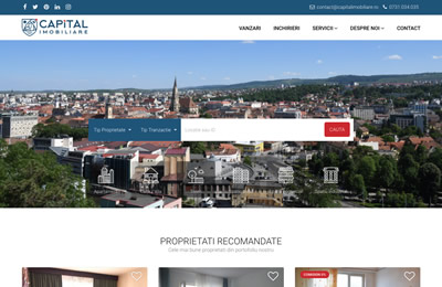 Website Capital Imobiliare