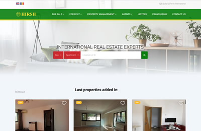 Website Hirsh International
