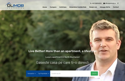Website Olimob Properties