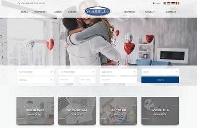 Website Smart Plus Imobiliare